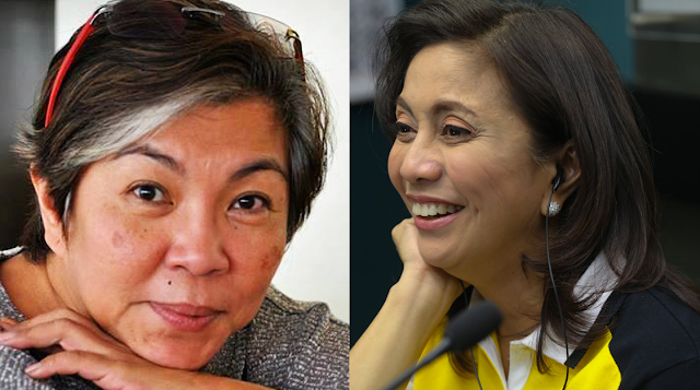 Stop playing the martyr, Leni, says journalist