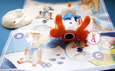 Kinder Maxi серия Снеговики спортсмены