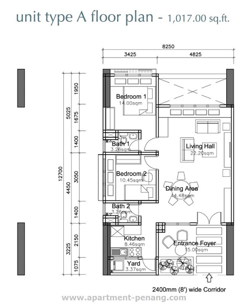 Grace Residence Apartment Penang Com