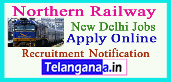 Northern Railway Recruitment Notification 2017 Apply