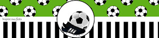 Etiquetas de Set de Fútbol para imprimir gratis.