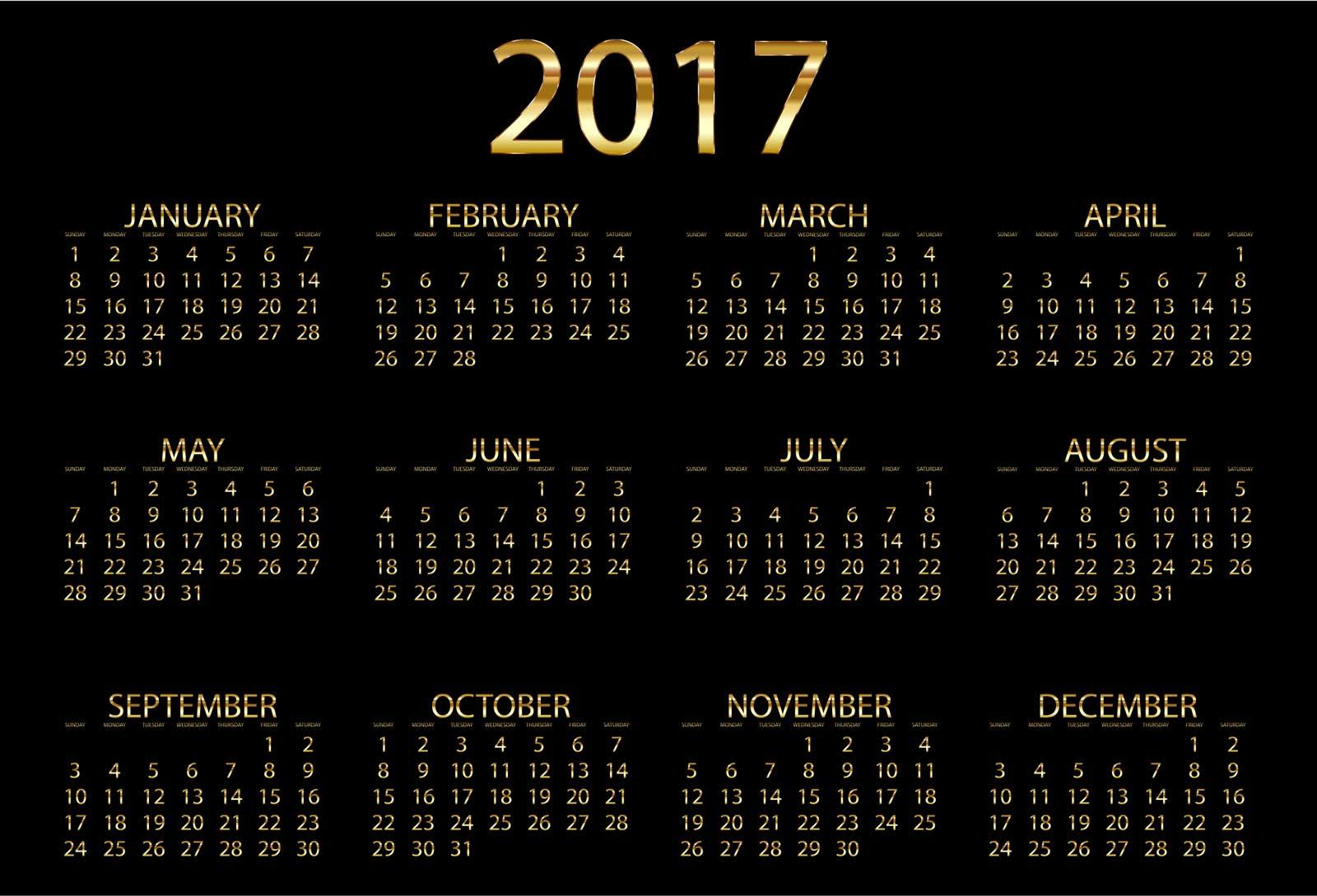 2017カレンダー無料テンプレート5 - きゃんつくば ...