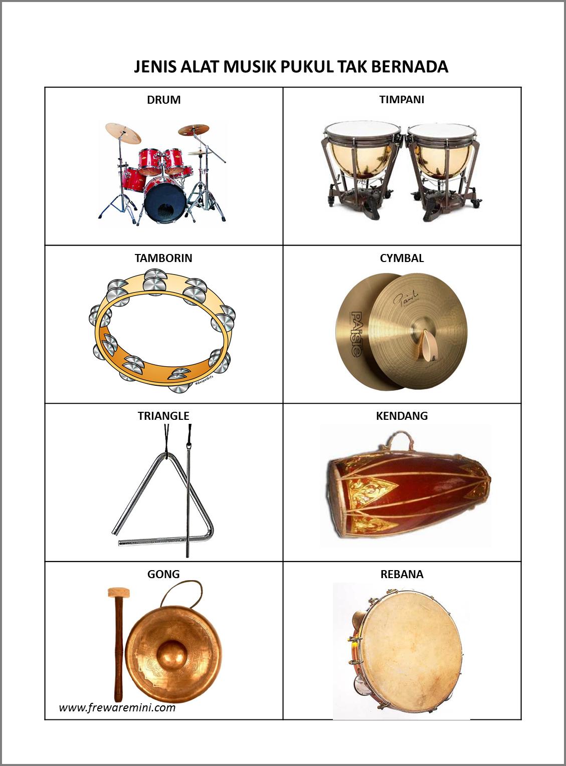 Gambar Tamborin : gambar, tamborin, Contoh, Musik, Ritmis, Gontoh