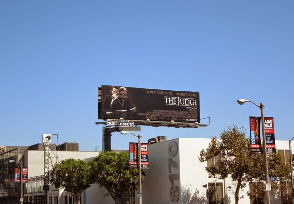 The Judge billboard