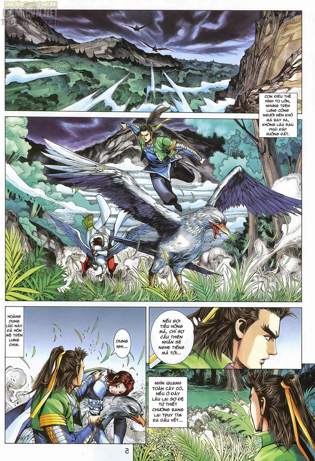Anh Hùng Xạ Điêu anh hùng xạ đêu chap 70: hắc chiểu ẩn nữ trang 6