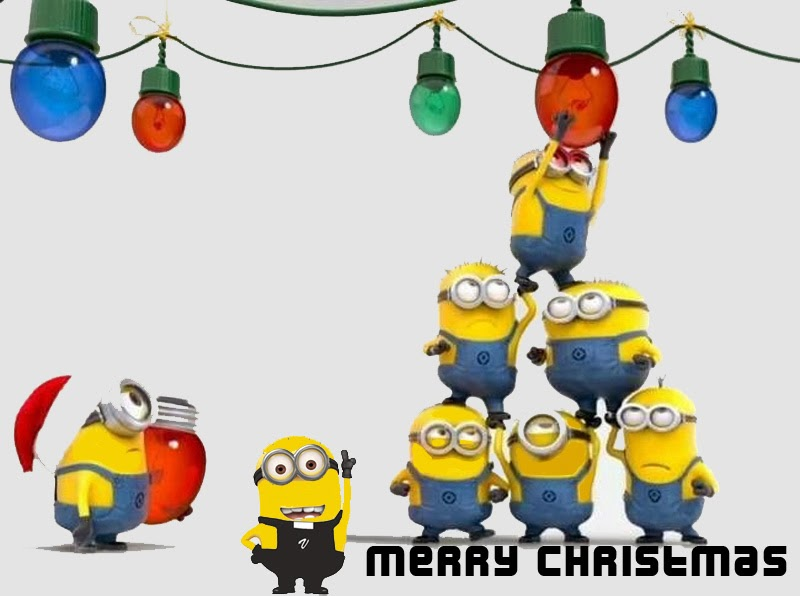 Funny Minion Merry Christmas Wallpapers Sayings: Vic The Vicar!: Christmas Cards