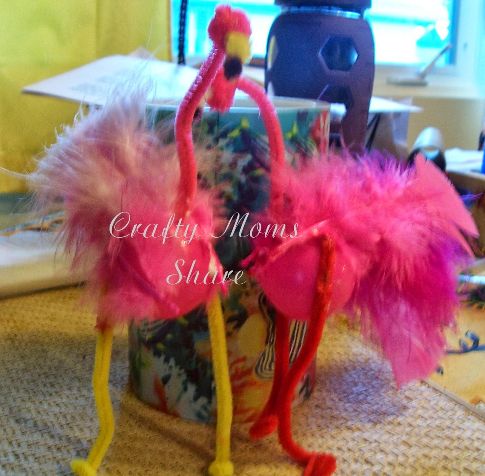 Crafty Moms Share Flamingo Friday Ping Pong Ball