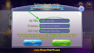 Hoàn thành số liệu quảng bá Bingo Club