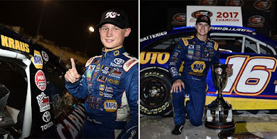Gilliland Goes Back-to-Back / Kraus Scores 1st #win #NASCAR