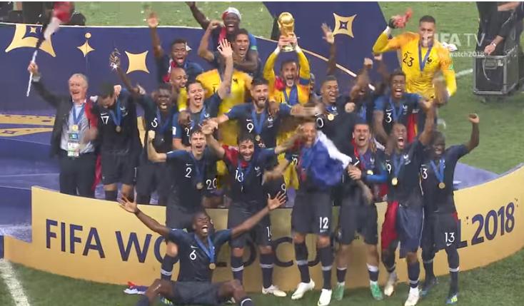 El conjunto galo logra su segundo título luego de 20 años / FIFA TV