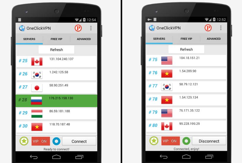 Android APP:一鍵VPN APK 下載 ( 抓貼圖必備 ) One Click VPN