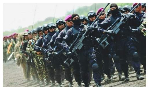 Gambar pasukan elite khusus milik TNI AL Denjaka (Detasemen Jala Mangkara)