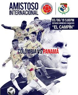 Partido Amistoso Internacional Colombia Vs. Panama 2019