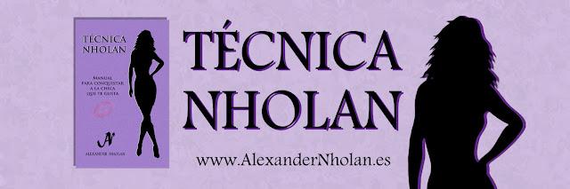 Cabecera del libro Técnica Nholan - Manual para conquistar a la chica que te gusta