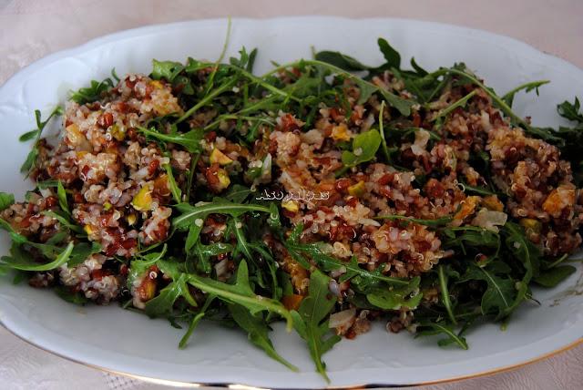 Ensalada de Quinoa y Arroz Rojo