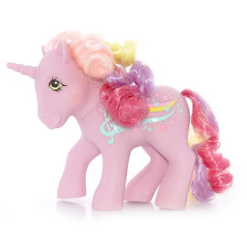MLP Streaky Year Eight Rainbow Curl Ponies G1 Pony