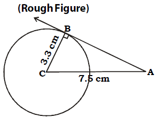 OMTEX CLASSES: 10. Draw a tangent to the circle with