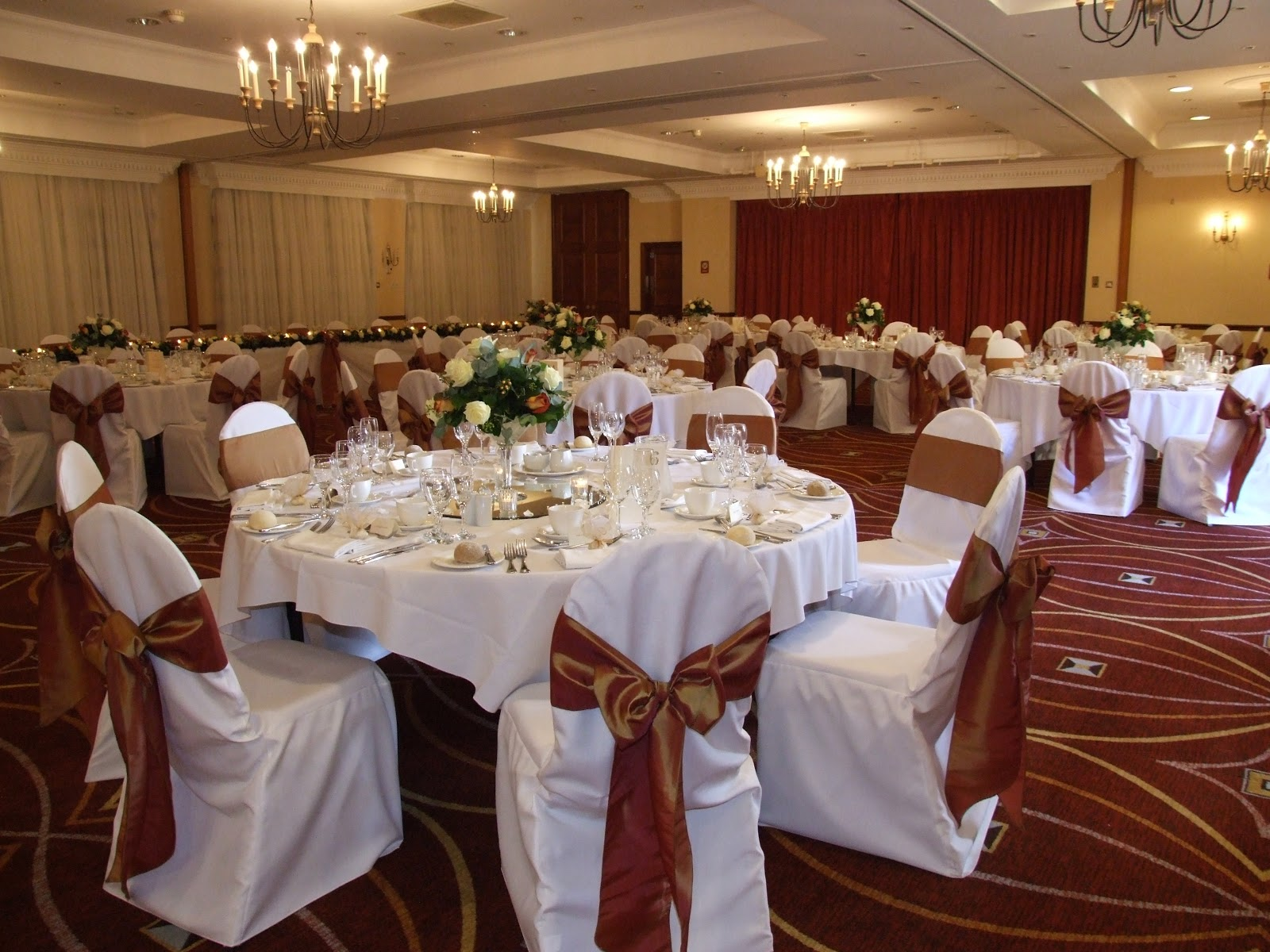 wedding chair covers price list foldable dining chairs crystal flowers and organza bows to