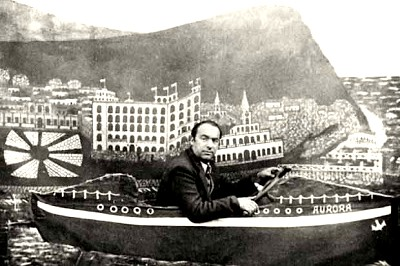Sesión de foto de Pablo Neruda
