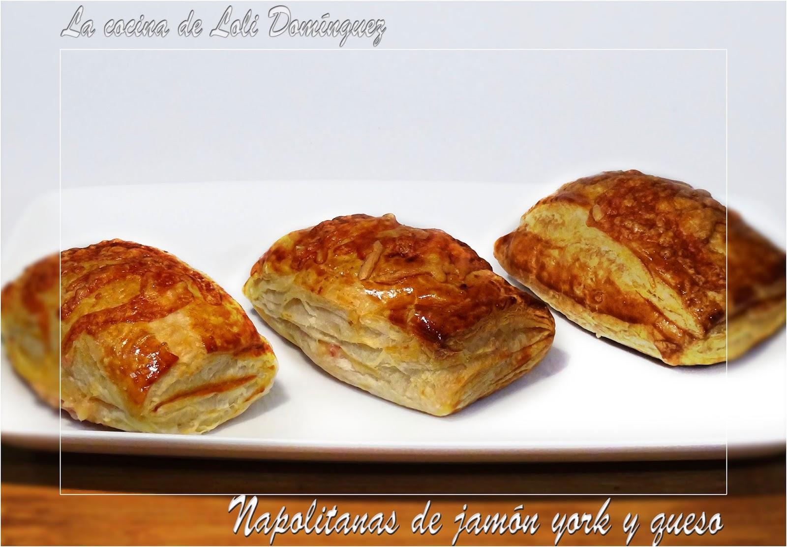 La Cocina De Loli Domínguez Napolitanas De Jamón York Y Queso