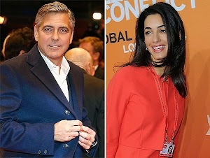 George Clooney and Amal Alamuddin got the marriage certificate