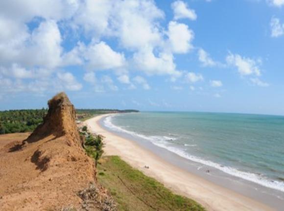 Praia do sol - Litoral Sul da Paraíba