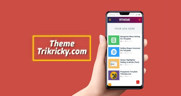 Download template redesign trikricky.com