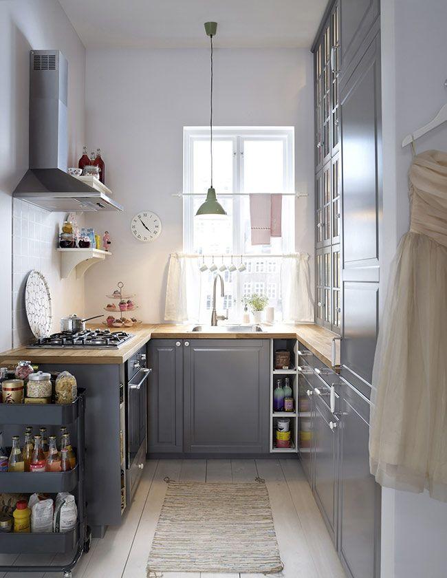 Super HOME & GARDEN: 35 idées pour aménager une petite cuisine WI67