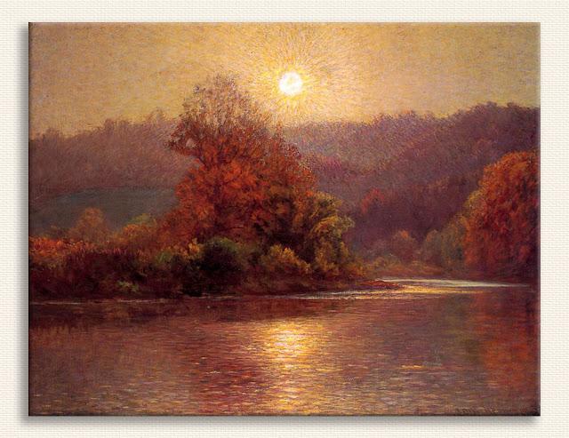 John Ottis Adams Sonbaharda Bir Günsonu tablosu