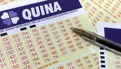 Resultado da QUINA concurso 4804 de quinta-feira