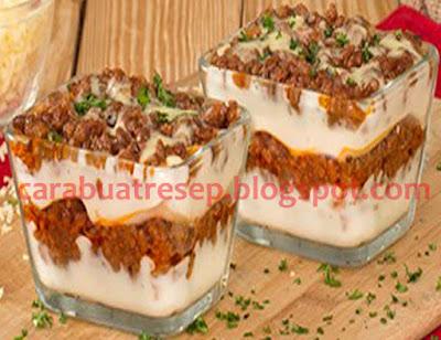Foto Resep Lasagna Kulit Pangsit Kukus Royco Sederhana Spesial Asli Enak