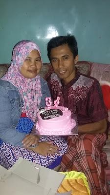 Selamat Ulang Tahun Yang Ke-33 Istriku Tersayang