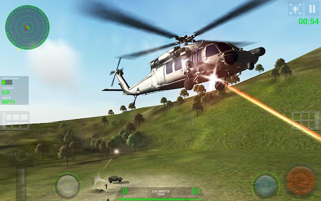 تحميل لعبة Helicopter Sim طائرة الحرب للأندرويد