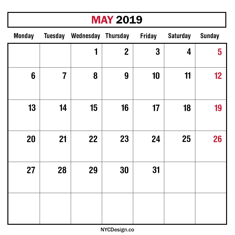 May Calendar New York : New york web design studio ny monthly planner