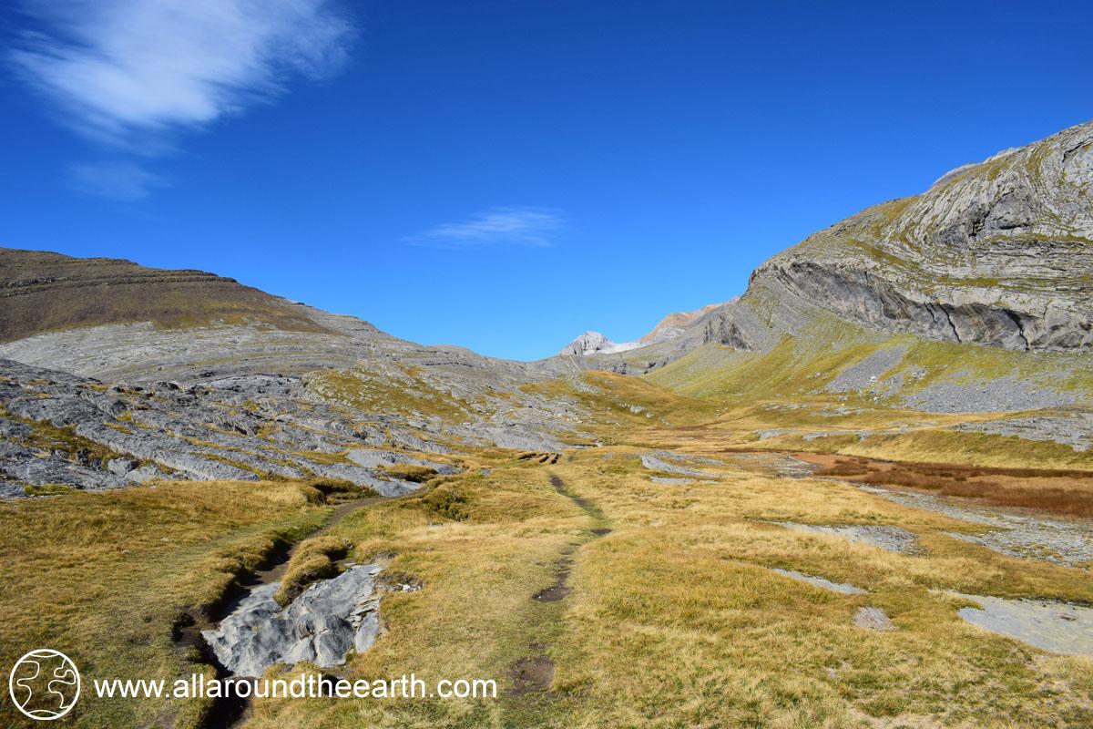 Highland valley in the Ordesa Y Monte Perdido National Park, Spain