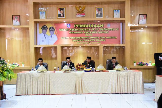40 Peserta Ikuti Diklatpim Tngkat IV di Soppeng