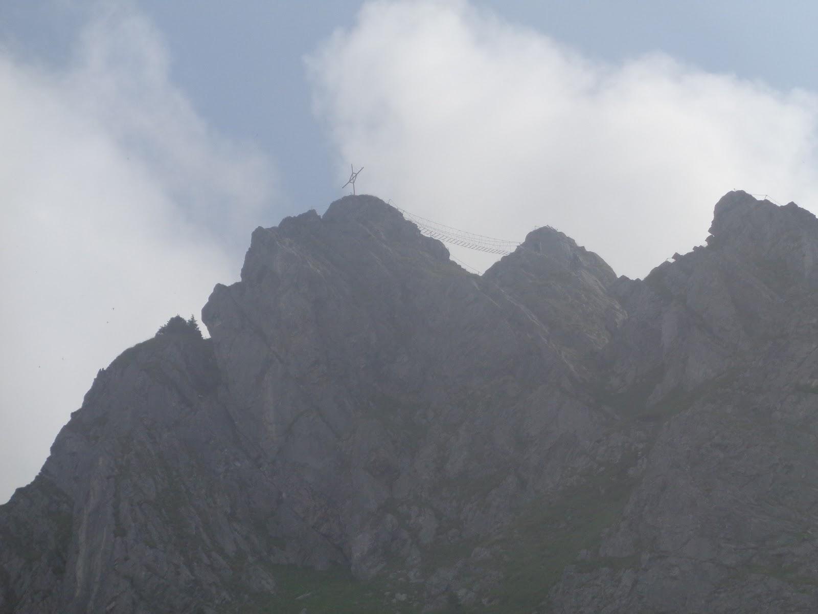 Klettersteig Zittergrat : Dumbo s wanderungen klettersteig zittergrat und rigidalstock