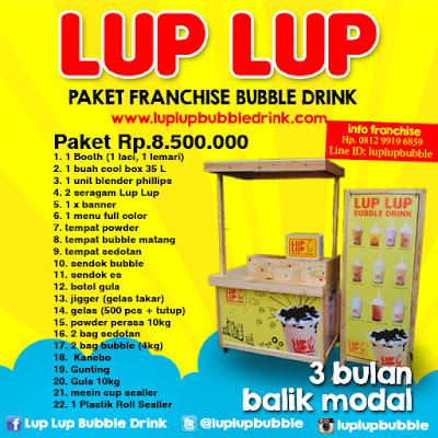 USAHA BUBBLE DRINK TERLARIS 2017 DI INDONESIA