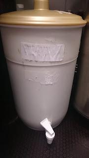 Fermenter in fridge