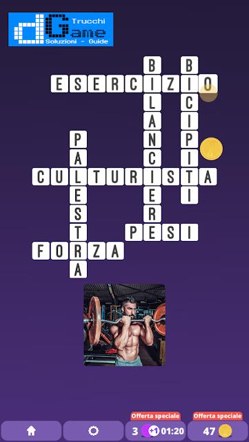 Soluzioni One Clue Crossword livello 2 schema7 (Cruciverba illustrato)  | Parole e foto