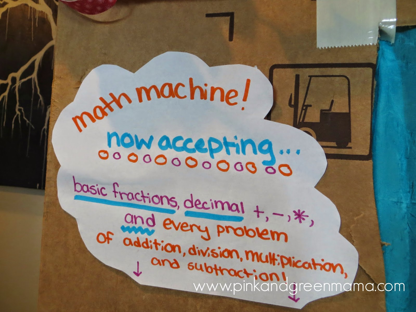 Enchanting The Math Machine Elaboration - Worksheet Math for ...