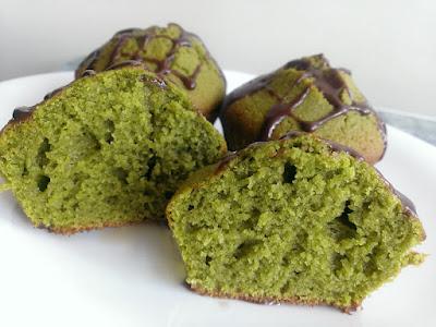 Muffiny z japońską herbatą