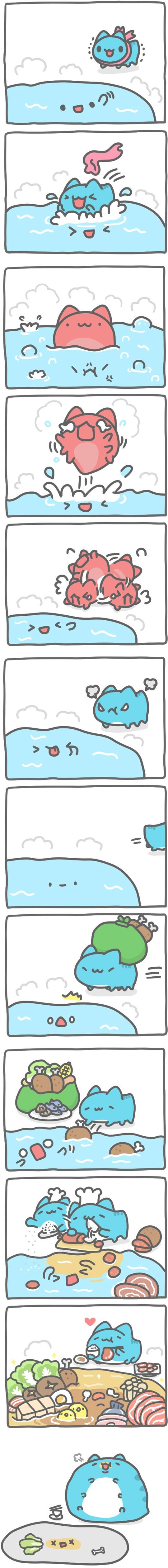 Truyện Mìn Lèo #388: Tắm nước nóng