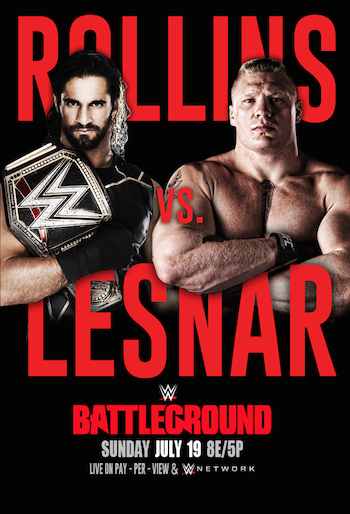 WWE Battleground (2015) HDTV Rip 480p 700MB