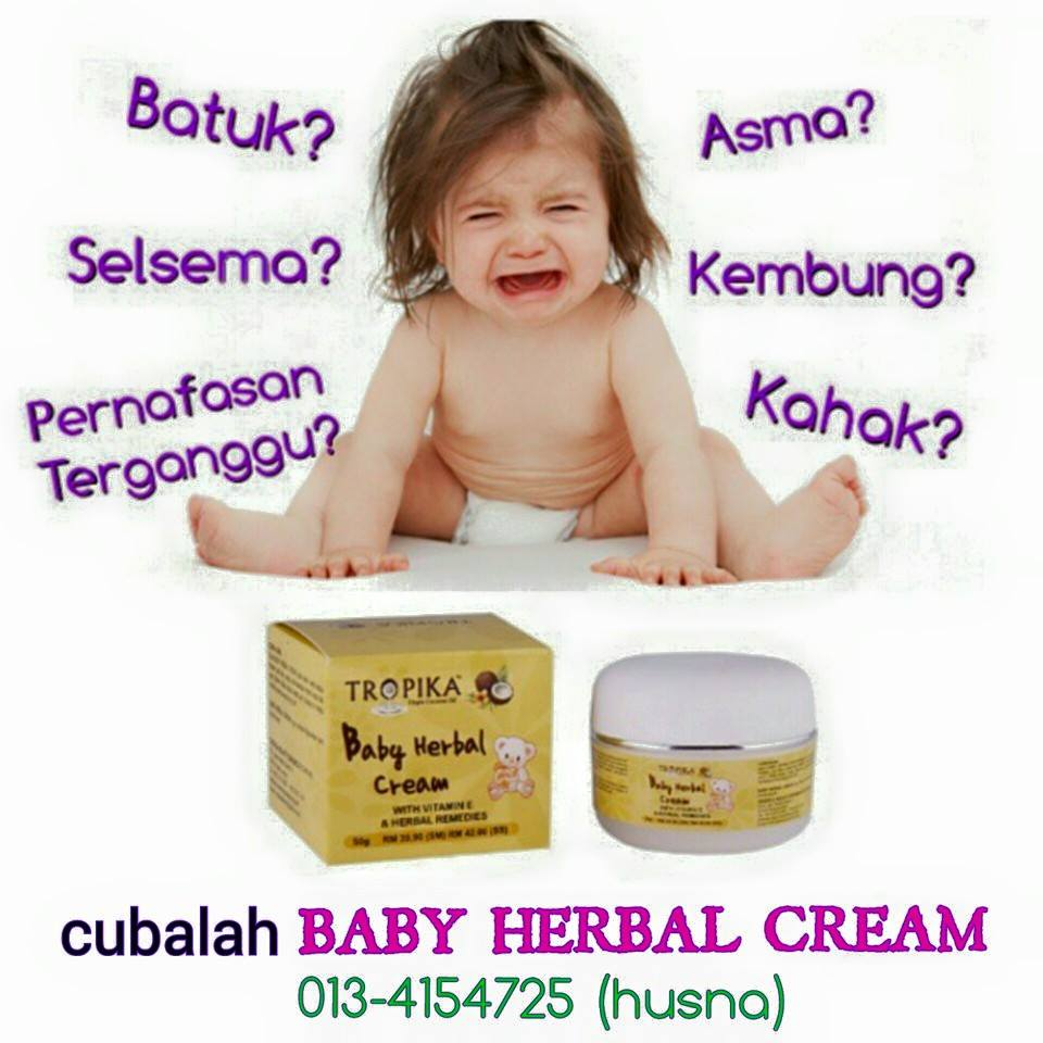Cinta Botani: TROPIKA BABY HERBAL CREAM