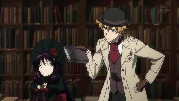 Dantalian no shoka - Anime misteri yang bagus
