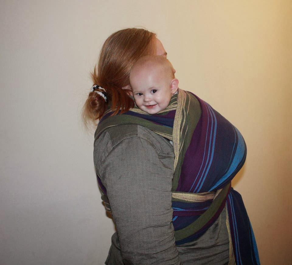 7314f270913 Ottawa Babywearing Group  COTW  40 - Newborn Burp Carry