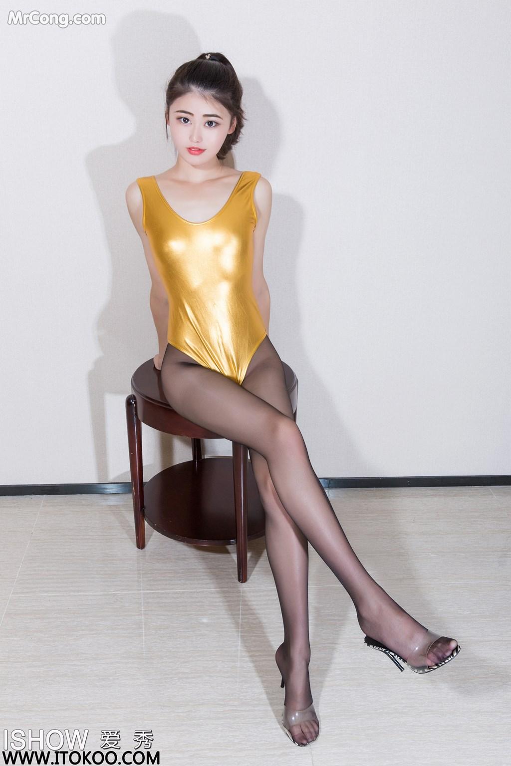 Image ISHOW-No.169-Liu-Yue-Fei-Phoebe-MrCong.com-007 in post ISHOW No.169: Người mẫu Liu Yue Fei (刘玥菲Phoebe) (31 ảnh)