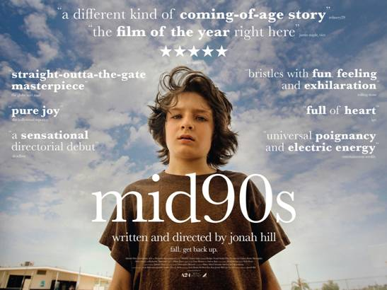 BeenToTheMovies: New UK trailer and poster for Jonah Hill's Mid90s