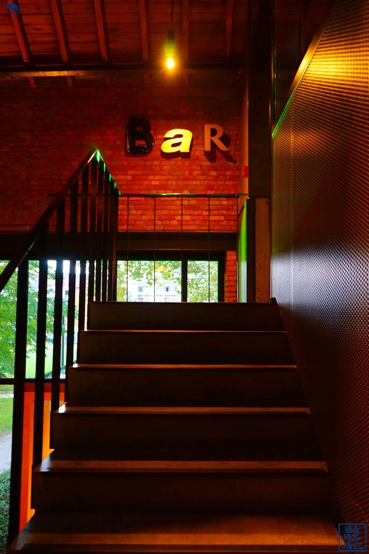 Le Chameau Bleu - Bar du Restaurant gastronomique Volta Ghent  - Week end en Belgique